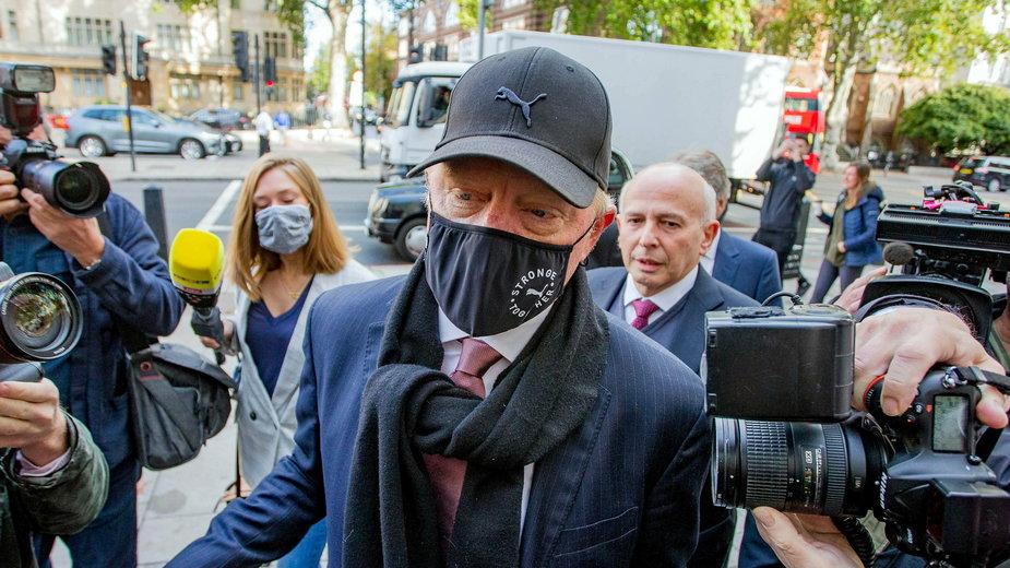 Boris Becker w sądzie. Grozi mu do 7 lat więzienia