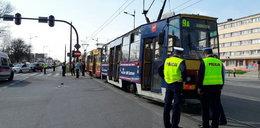 Śmiertelny wypadek na Widzewie. Kobieta wpadła pod tramwaj