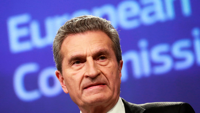 komisarz Guenther Oettinger