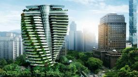 Budynek na Tajwanie skręcony jak łańcuch DNA