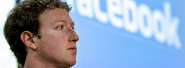 Mark Zuckerberg, założyciel i CEO Facebook Inc.