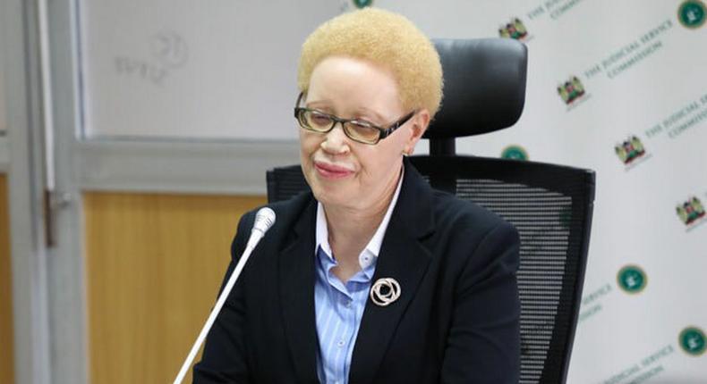 Lady Justice Mumbi Ngugi