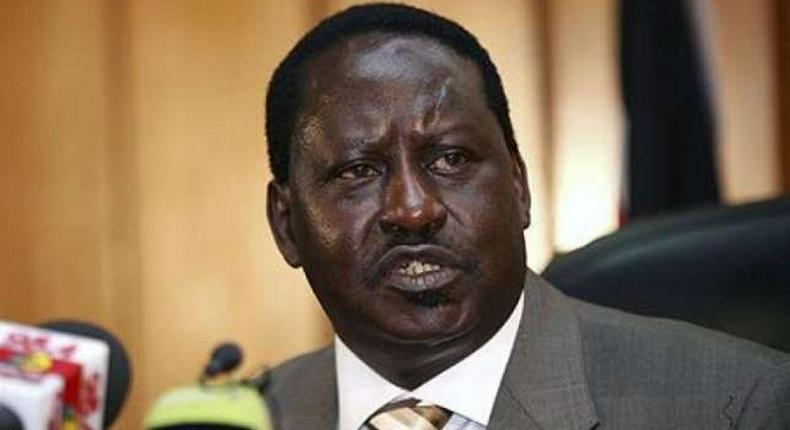 Cord leader Raila Odinga (above) snubbed a joint leaders summit organised by the Kenya Private Sector Alliance (KEPSA) saying that the opposition was not consulted for the peace strategy meeting.