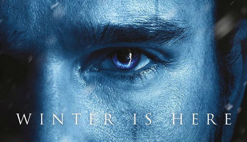 "Poster oficial ""Game of Thrones"""