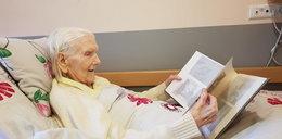 101-letnia pani Ania i jej walka z koronawirusem. Coś niesamowitego!