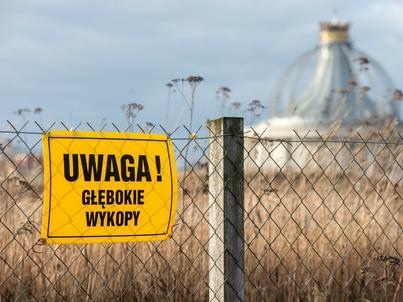Odwierty źródeł geotermalnych w Toruniu.