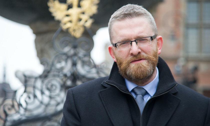 Grzegorz Braun nie odpuszcza Dulkiewicz. Złożył kolejną skargę