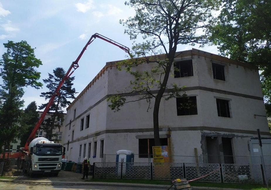 Budowa budynku pasywnego w Wieruszowie