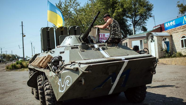 Rządowe wojska na Ukrainie
