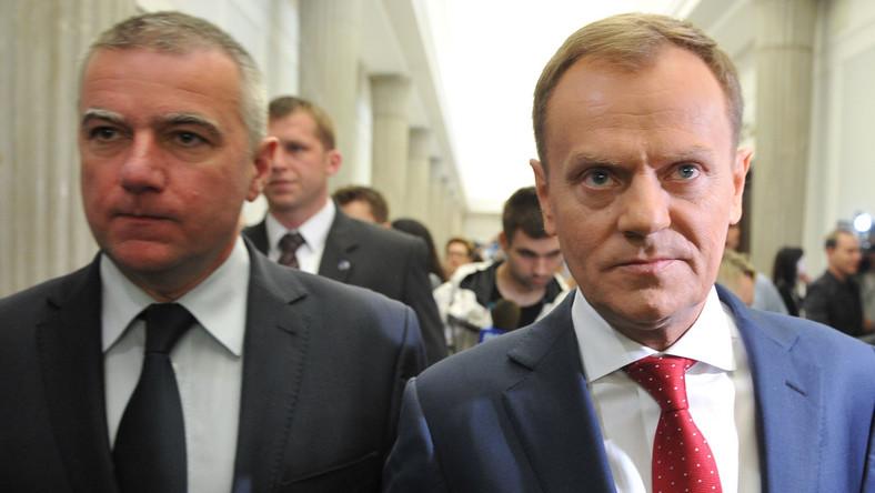 Paweł Graś i Donald Tusk
