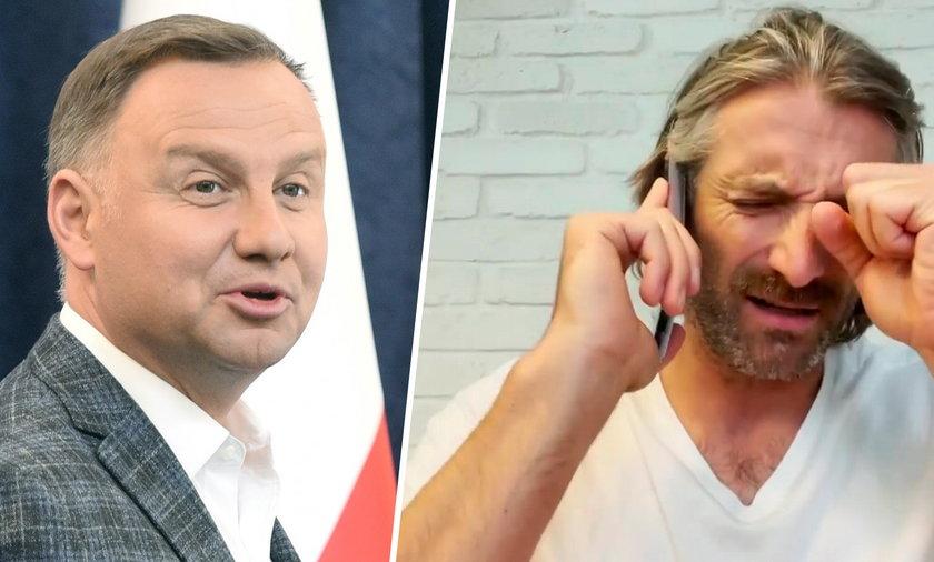Andrzej Duda i Maciej Dowbor.