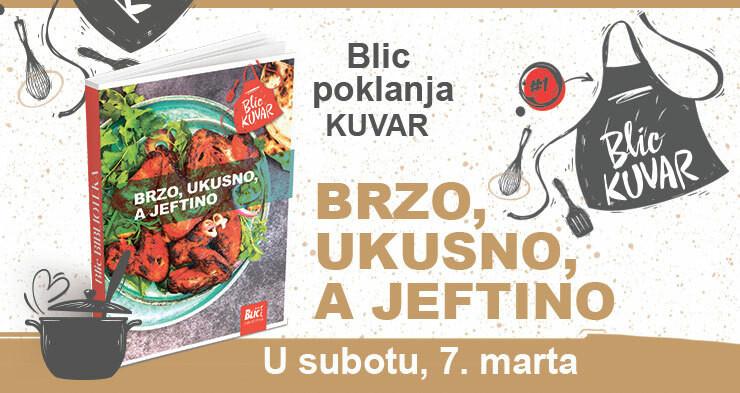 """Kuvar na poklon u """"Blicu"""""""