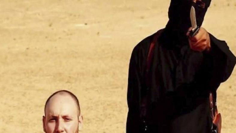 Ścięcie Stevena Sotloffa - USA potwierdzają autentyczność nagrania