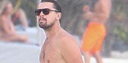 Leonardo DiCaprio bez koszulki w Meksyku. Ma nadwagę!