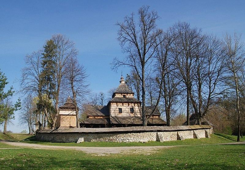 Radruż - zespół cerkiewny. Cerkiew św. Paraskewy w Radrużu
