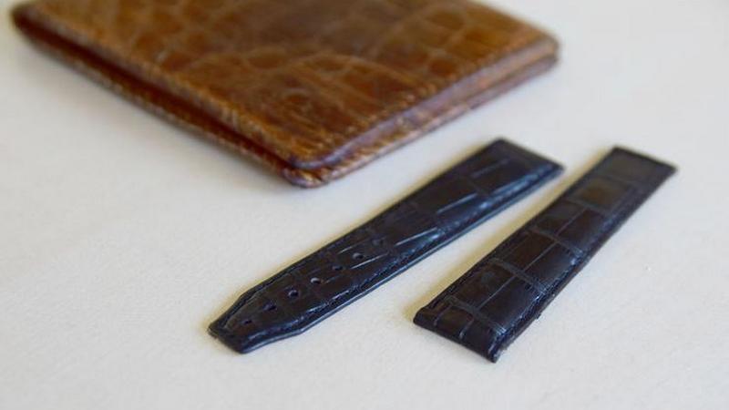 Produkty ze skóry krokodyla