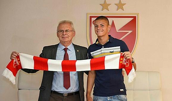 Predsednik Zvezde Svetozar Mijailović i Dejan Joveljić