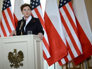Beata Szydło, USA