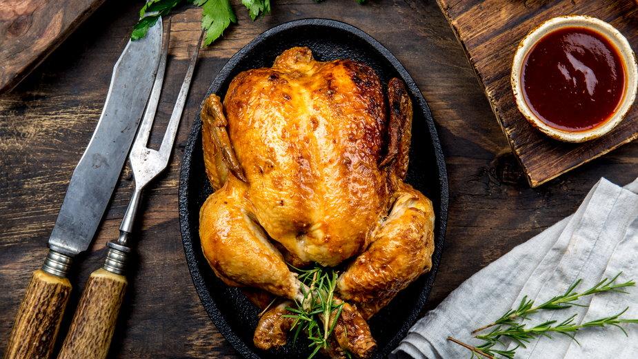 Kurczak w czosnku jest bardzo popularny w Hiszpanii
