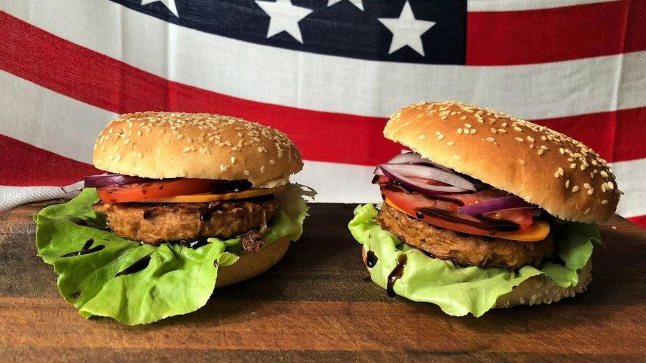 Roślinne burgery Lindy McCartney