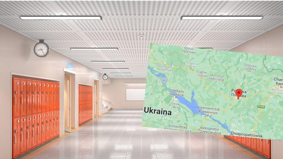 Uczennica n Ukrainie postrzeliła nauczyciela z kuszy