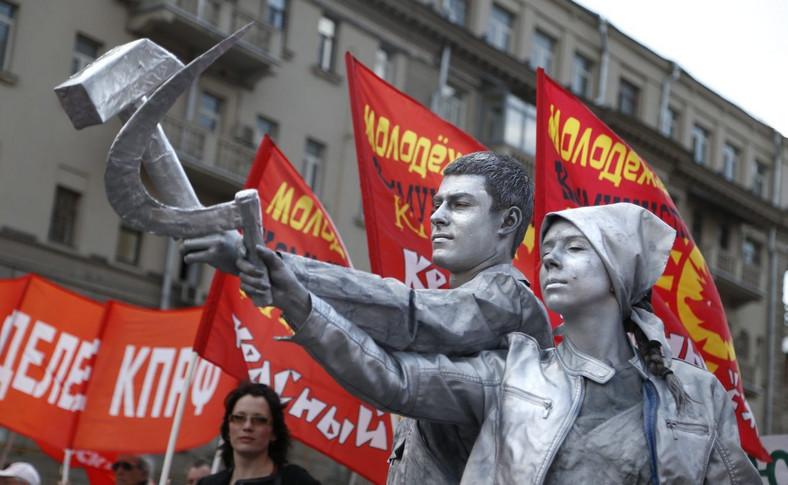 Marsz zwolenników Partii Komunistycznej