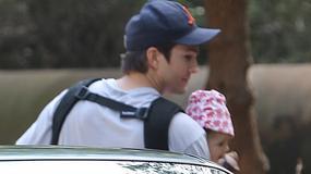 Ashton Kutcher z małą córeczką!