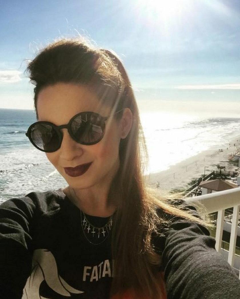 Ewelina Lisowska na wakacjach