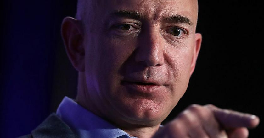 CEO Amazona Jeff Bezos uważa porażki za coś dobrego