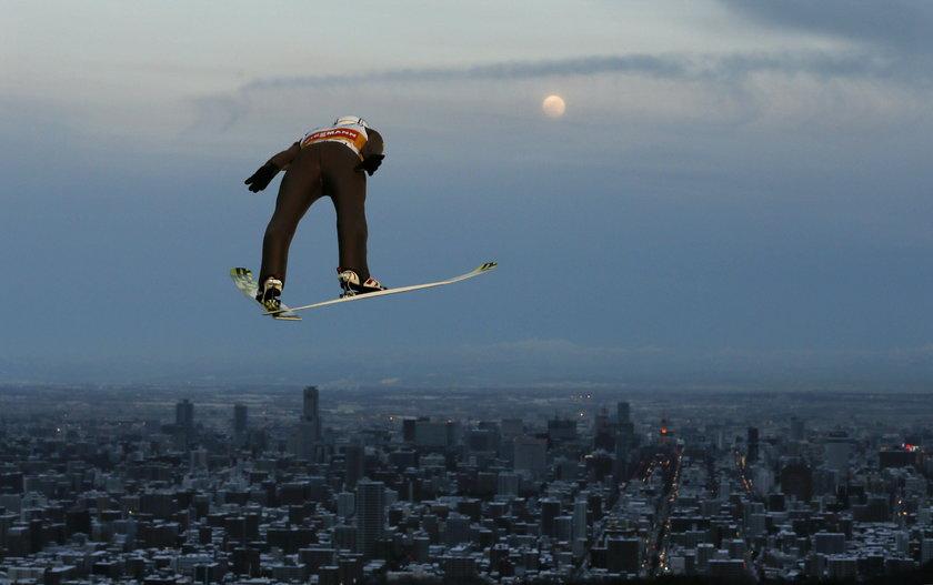Świetne skoki Polaków w Japonii