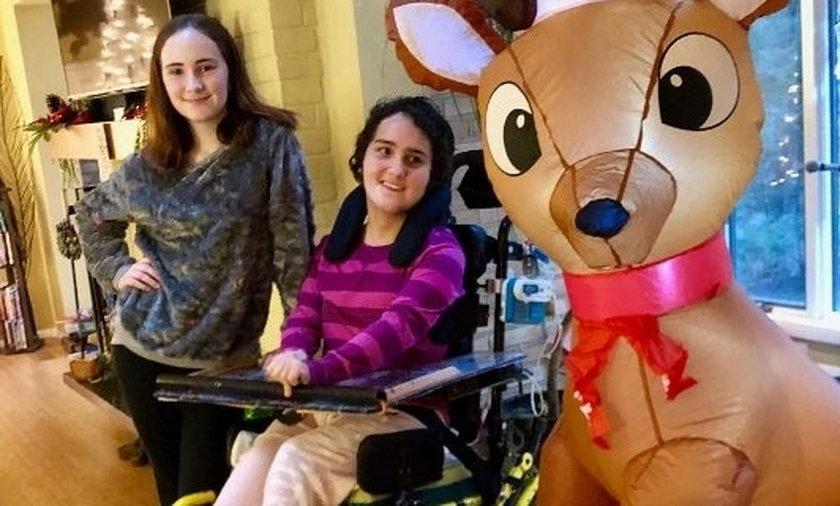 14-latka stała przed domem i próbowała zmyć krew śniegiem. W środku zleziono zwłoki