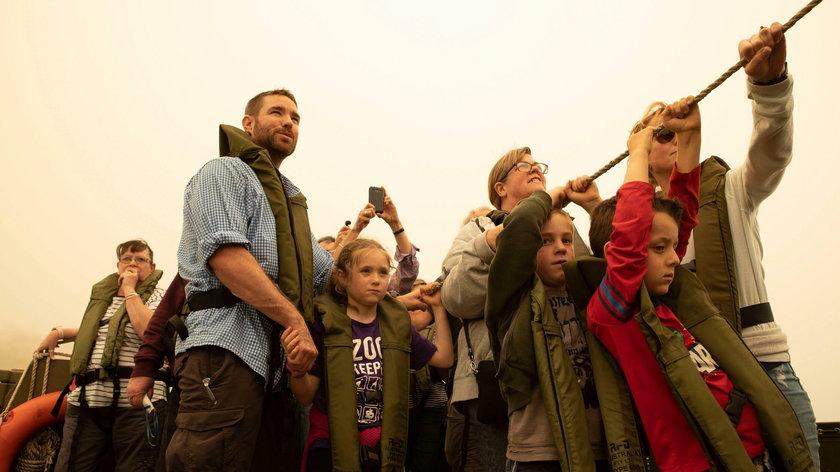 Pary książęce solidaryzują się z ofiarami pożarów w Australii