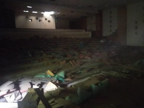 The cinema section of the hotel. (Pulse)