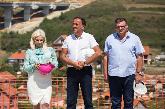 Zorana Mihajlović, Zoran Babić i Zoran Drobnjak