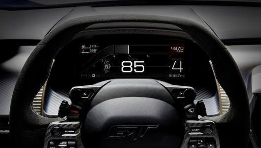 Kierowca Forda GT zdobywa informacje szybciej