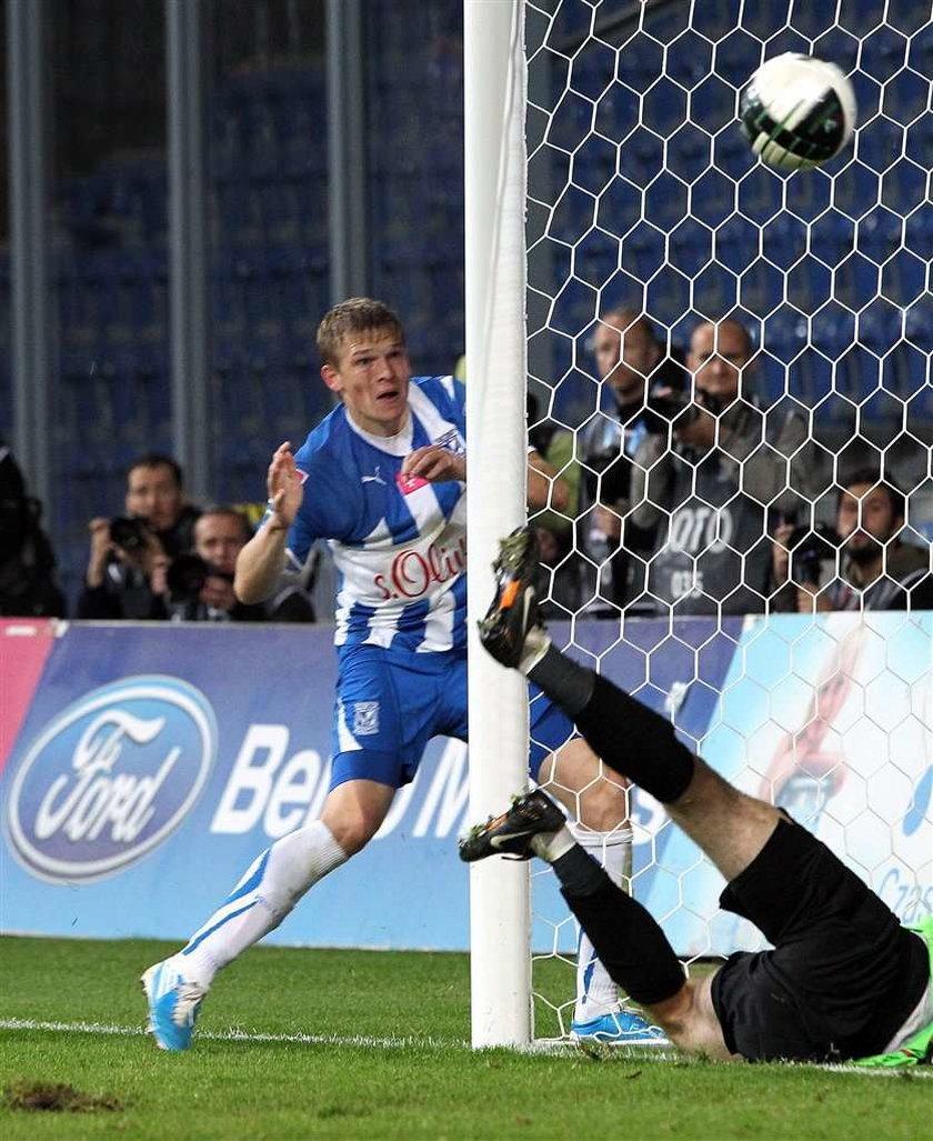 Artjom Rudnew strzelił już 11 goli dla Lecha Poznań, ale cztery nie powinny zostać uznane