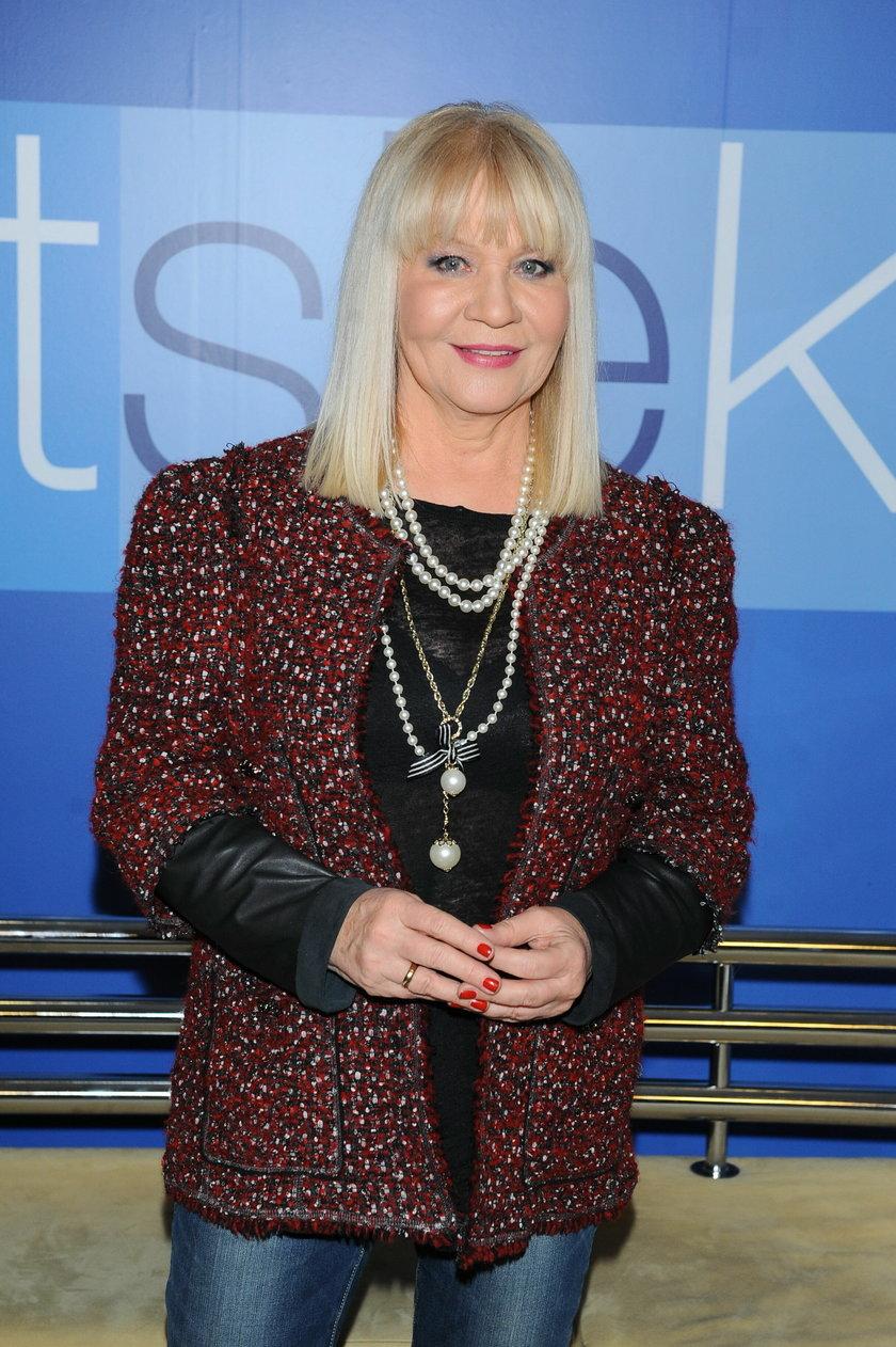 Maria Szabłowska w grudniu 2013