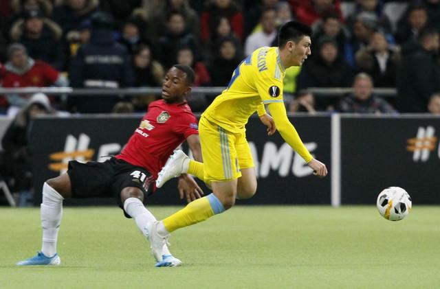FK Astana, FK Mančester junajted