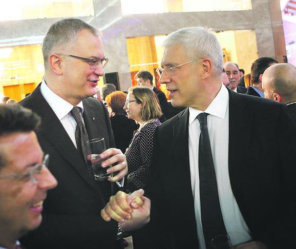 Dragan Šutanovac i Bori Tadić