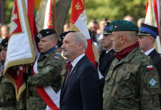 Macierewicz: Chcemy, żeby polska młodzież była wykształcona i dzielna zdolnością obrony ojczyzny