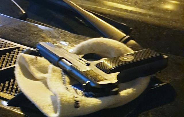 Pištolj koji je pronađen na mestu pucnjave