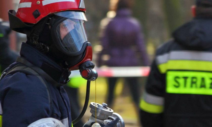 Wybuch gazu w jednym z domów w miejscowości Janikowo Kolonia
