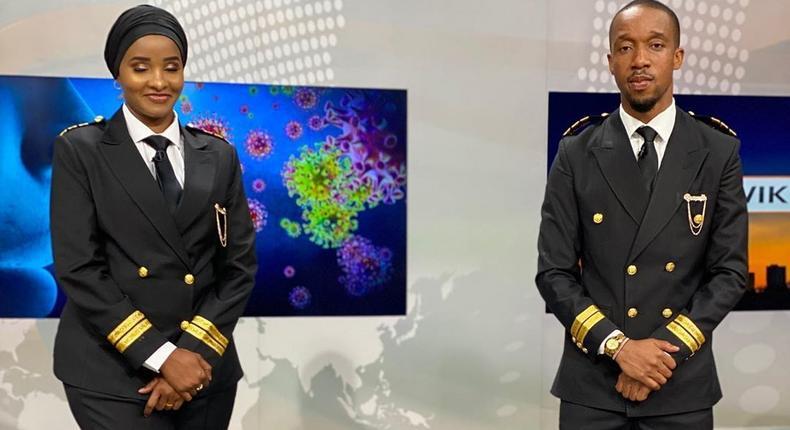 Citizen TV's power couple Rashid Abdalla and Lulu Hassan