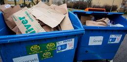 Kody kreskowe na workach na śmieci. Sprawdzają mieszkańców