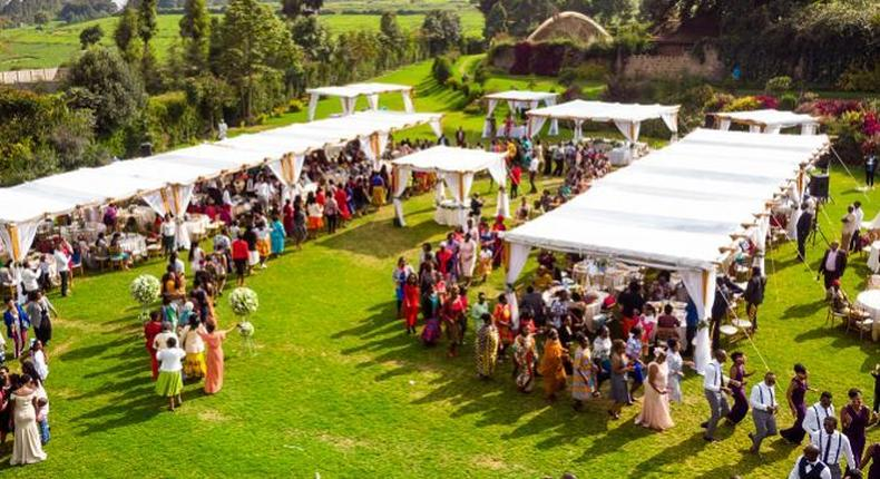 File image of a wedding venue