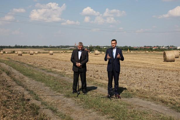 Mateusz Morawiecki i Jan Krzysztof Ardanowski