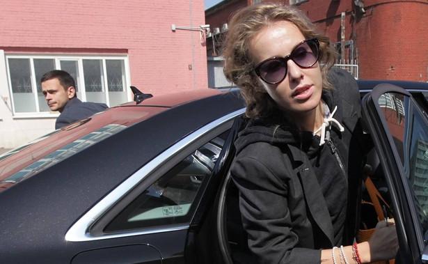 Ksenija Sobczak ma szansę stać się Miedwiediewem Putina