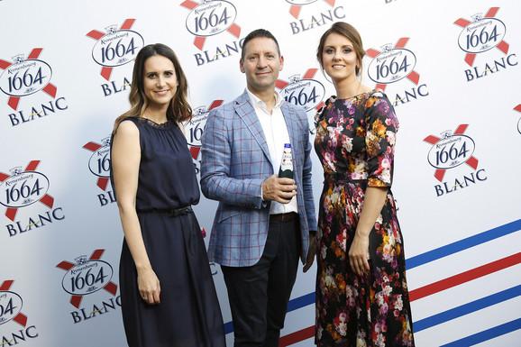 Kompanija Calsberg: Ana Milićević, Vladimir Vava i Jovana Mladenović