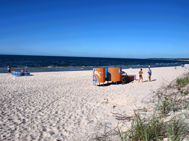 Plaża w Mrzeżynie