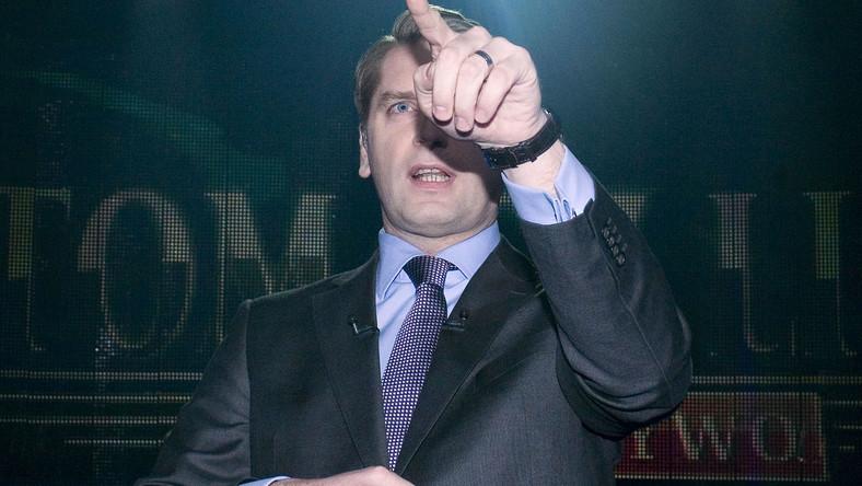 Tomasz Lis miał ochotę zbić dziennikarzy